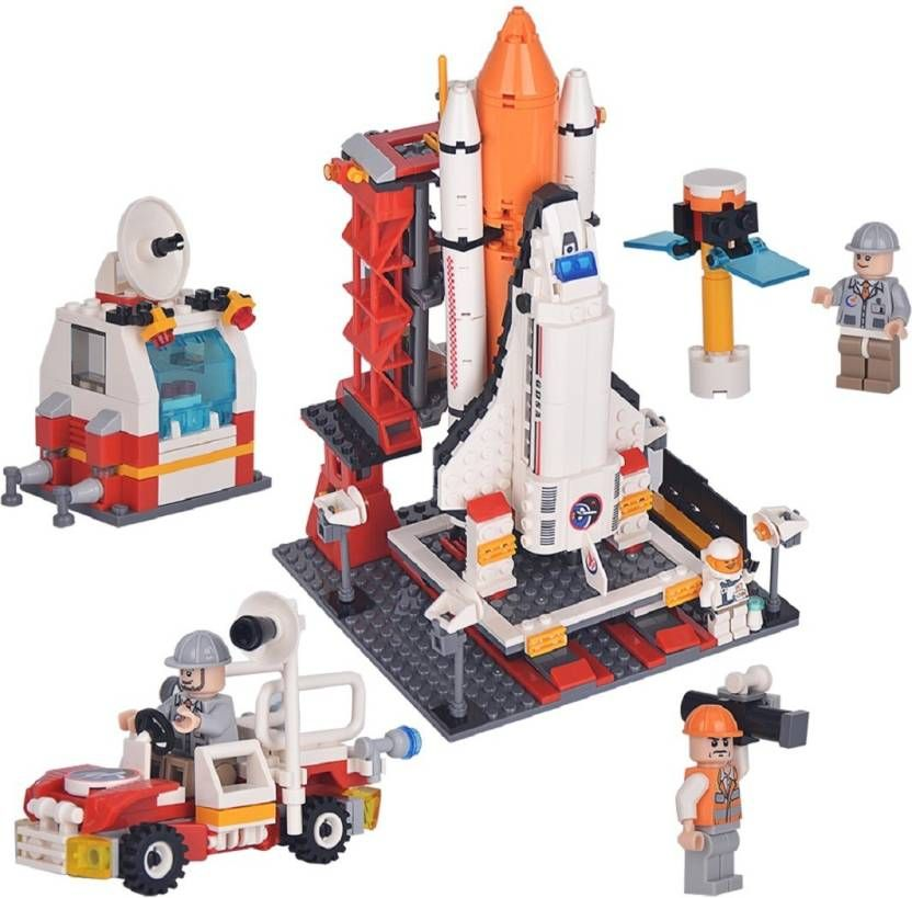 Rocket Launch Station Center
