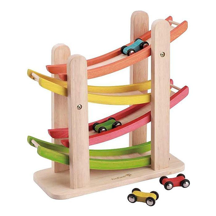 Wooden Car Game